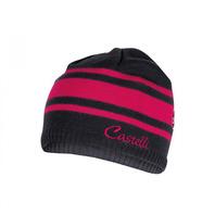 CASTELLI CAMPIGLIO KNIT CAP 女款質感條紋毛帽 刺繡LOGO