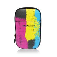 147手機袋-三色漆/紅黃藍