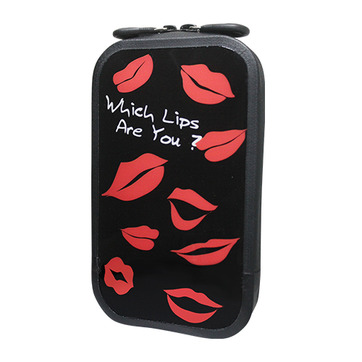 147 充氣式手機包-WHICH LIPS BLACK (SIZE:L,XL)