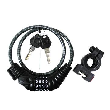 CICLO 密碼鎖附鑰匙 8mmx24 超實用防盜