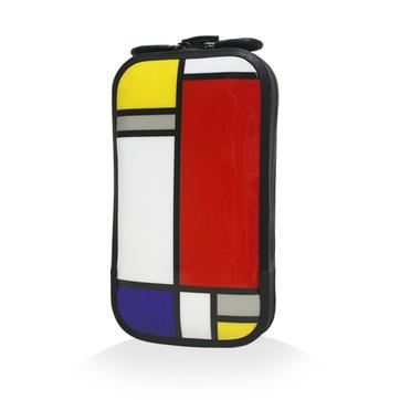 147 充氣式手機包-幾何蒙德里安(S M)