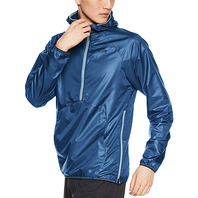 OAKLEY ENHANCE WIND ANORAK JACKET 時尚運動風衣 經典藍