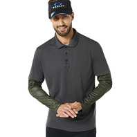 OAKLEY POLO SHIRT LS PRINTED SLEEVE