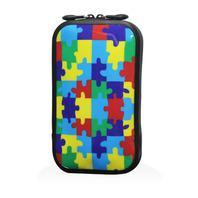 147 充氣式手機包-彩色拼圖(L)