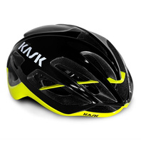 KASK PROTONE BLACK/YELLOW FLUO