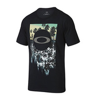 OAKLEY I SURF BLACKOUT 衝浪! 經典LOGO TEE