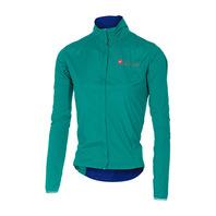 CASTELLI SEMPRE W JACKET 女款 輕量 風衣外套 歐式修身裁剪 時尚湖水綠