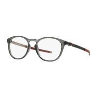 OAKLEY PITCHMAN R 50 亞洲版 光學鏡框 時尚風格 半透明霧面圓框 鏡腿質感金屬設計