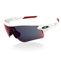 OAKLEY MATTE WT FRM LENS PATH POSITIVE RED IR PATH CLEAR VENTED 喜客訂製版