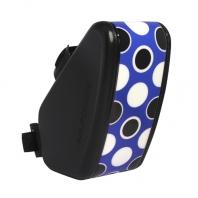 147King bag 坐墊袋S - 點點 藍黑白