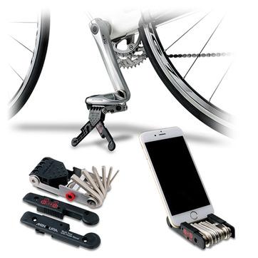 """MINOURA HPS-9 """"Get'A"""" 手工具組 9種 可當立車架使用 實用方便輕巧好攜帶"""