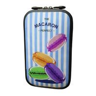 147 充氣式手機包-馬卡龍 彩色細條紋底(SIZE:S,M)