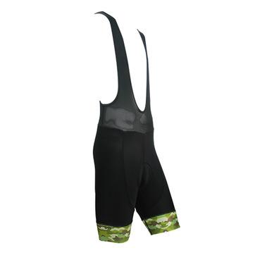 CICLO 吊帶短車褲-喜客嚴選 歐洲品質 國產價格 超CP值 經典綠迷彩