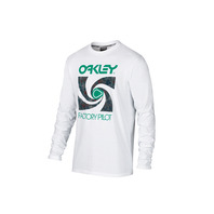 OAKLEY SPOKE LONG SLEEVE TEE