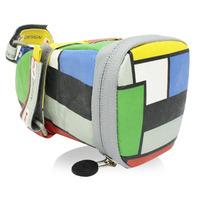 147坐墊袋-方塊 綠 M