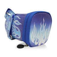 147坐墊袋-火焰 藍 M