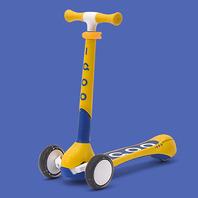 19 IQOO 小趣三輪滑板車 - 藍/黃