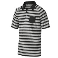 OAKLEY ACE STRIPE GOLF POLO 快透排汗 舒適面料