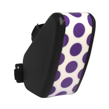 147 King bag 坐墊袋S - 點點 紫