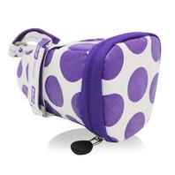 147坐墊袋-點點 紫 M